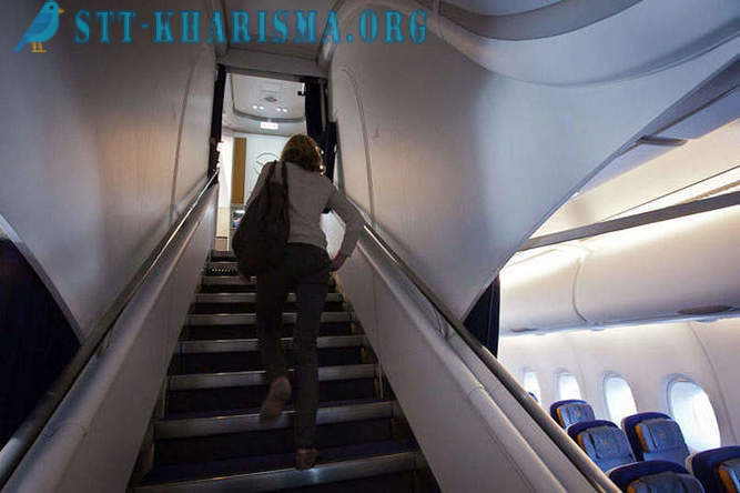 Flying den nye gigant Airbus A380 fly
